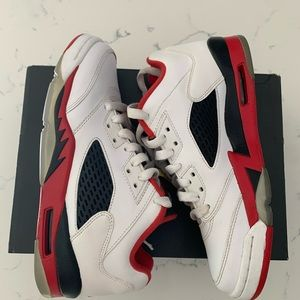 Jordan Retro 5 'Fire Red' Lows
